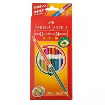 lapices-de-color-faber-castell-bicolor-x12-largos