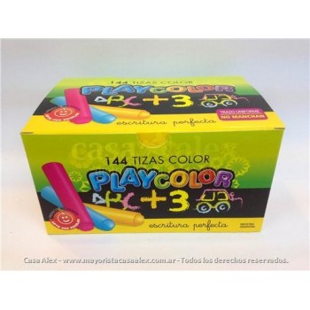 tizas-playcolor-x-144-color