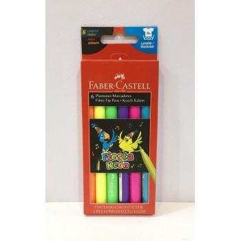 Marcador Faber-Castell Flúo...
