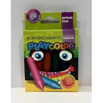 Crayones Playcolor x6