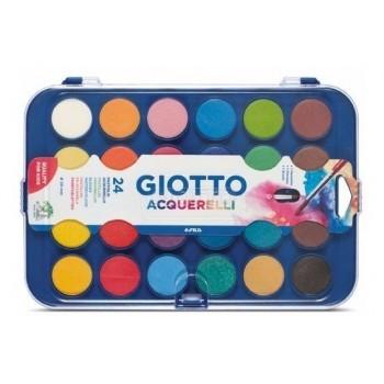 Acuarelas Giotto x24