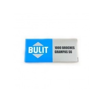 Broches Bulit N°8 x1000