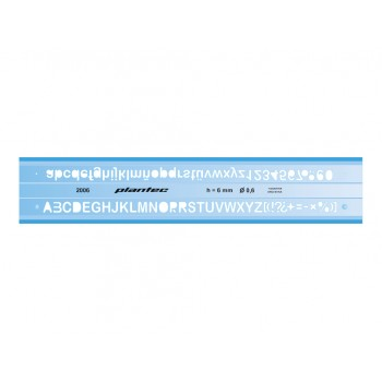 Letrógrafo Plantec 3 mm